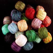 Valdani Size 12 Perle Cotton Variegateds