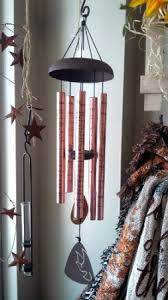 copper tone wind chime sympathy gifts