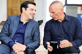 Image result for syriza without ties + images