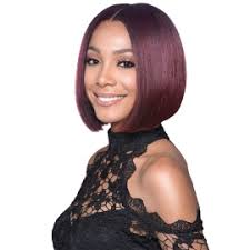 New Born Free Wigs Color Chart Bobbi Boss Synthetic Hair Lace Front Wig Mlf126 Swiss Lace Lyna