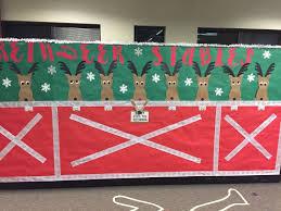 images office cubicle christmas decoration. Reindeer Stable Office Cubicle Christmas Decor More Images Decoration D