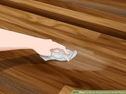 image led clean polyurethane wood floors step 9
