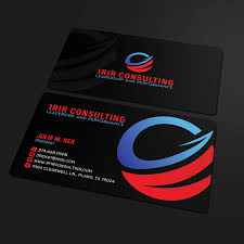 Logo Design Plano Tx Bold Modern Business Card Design For A Company By
