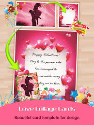 Collage Card Maker Love Greeting Cards Maker Pro Picture Frames For Valentines Day