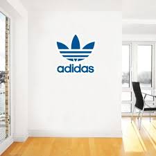 adidas unique logo wall decal decoration branded expensive high quality premium material chair transparant window on business logo wall art with adidas unique logo wall decal decoration branded expensive high
