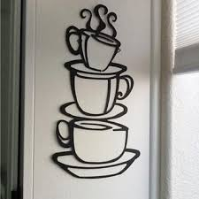 wall stickers home decor removable diy kitchen decor coffee hous
