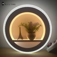 Acrylic <b>Modern Led Wall Light</b> For Living Room Beside Bedroom ...
