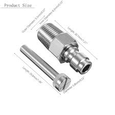 8mm <b>Paintball PCP Fill Nipple</b> Stainless Steel Air Tank for sale