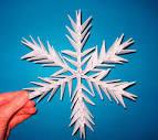 Снежинки из оригами
