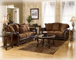 Beautiful Ashley Furniture Leather Loveseat 29 In Living Room Sofa