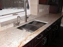 Colonial Gold Granite Kitchen Colonial Cream Granite