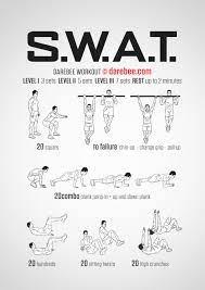 swat workout