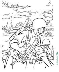 If he can easily cope, offer him something. Armed Forces Coloring Pages