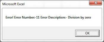 Error Handling Pk An Excel Expert