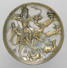 the sasanian empire a d essay heilbrunn timeline of plate a hunting scene from the tale of bahram gur and azadeh