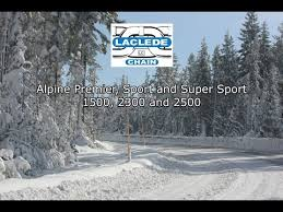 New Laclede Chain Manufacturing Alpine Tire Chain