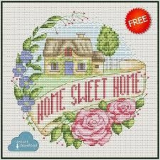 Cross Stitch Designs Free Download Pdf Home Sweet Home Cross Stitch Chart Pdf Xsd Free