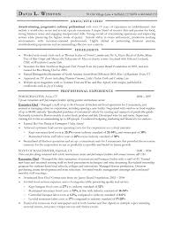 Example Of Chef Resume Anatomy Of A Chefs Cv Resume Example For Sous Chef Chef Resume Chef 11