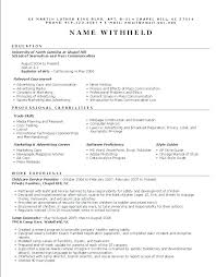 Resume Functional Summary Examples Resume Functional Summary Define ...