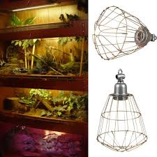e27 heat infrared lamp shade chandelier led bulb holder shade cover reptile pet lampshade wire diy