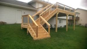 deck stairs pictures. Exellent Pictures In Deck Stairs Pictures E