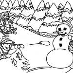 Small Picture Winter Coloring Pages Preschool Archives Coloring Page Coloring