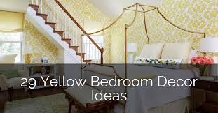 29 yellow bedroom decor ideas sebring