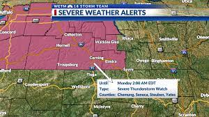 Severe Thunderstorm Watch in effect