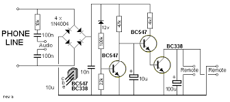 101 200 transistor circuits also shown on the diagram this circuit has the advantage that it does not need a battery it will work on a 30v phone line as well as a 50v phone line