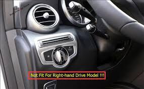 mercedes benz 2014 c class interior. for mercedesbenz c class w205 2014 2017 abs front head light switch frame mercedes benz interior