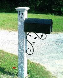 double mailbox post. Dual Mailboxes Post Double Mailbox