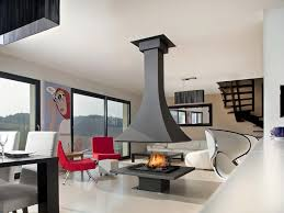 wood burning open central fireplace julietta 985 wood burning fireplace by jc bordelet