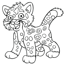Jaguar Coloring Pages Free Download Best Jaguar Coloring Pages On