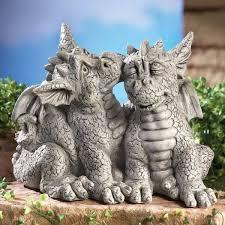 dragon garden statues. Dragons In Love Garden Statue Dragon Statues