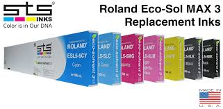 <b>Roland Eco-Sol MAX 3</b> Compatible and Replacement Inks - STS Inks