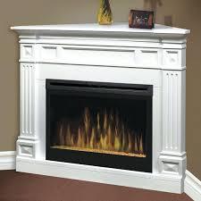 corner white electric fireplace dimplex chelsea white corner electric fireplace