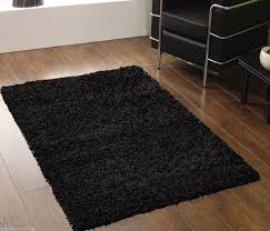Solid Black Carpet Runner