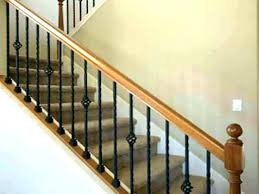 replace stair railing. Stair Railings Posts Install Railing S Post On Deck Baluster Newel Replace