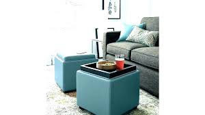 leather ottoman tray small leather ottoman cube cube ottoman with tray storage cube ottoman with tray small leather ottoman