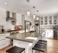contemporary flush kitchen pendant lights over island traffic master hand sed western hickory desert gold engineered