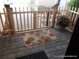 Build a Porch Gate Build a Picket Fence Gate for Your Porch