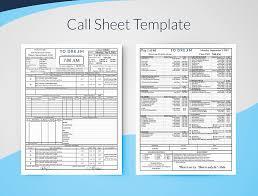 Creating Professional Call Sheets Filmup Blog