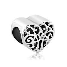 Heart Filigree Irish Charm Triquetra Celtic Knot Family Tree Of ...