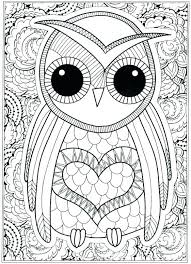 Free Owl Coloring Pages Printables Baby Cute Printable Color Online