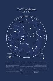 Star Chart Book Literary Constellations Astronomy Inspired Visualizations