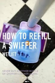 how to refill a swiffer wetjet bottle