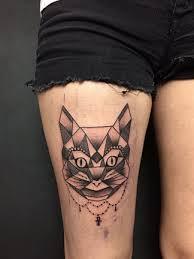 Kočky V Tetovacím Salonu Zajímavosti Modrý Kocouřcz