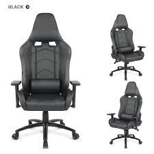 executive computer chair. IKayaa Ergonomic Racing Style Gaming Office Chair Cool Executive Computer W/ Recline Height \u0026 Armrest Adjustable Tilt Swivel Function + Headrest And I