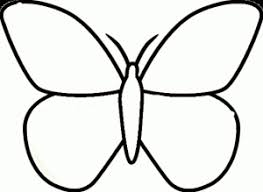 Small Picture Butterfly Coloring Pages For Kids Preschool and Kindergarten
