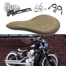 retro grain motorcycle spring solo seat